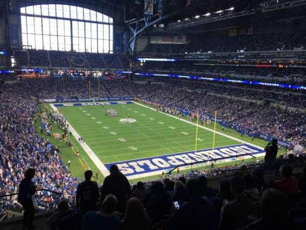 Lucas Oil Stadium, section: 430, row: 10, seat: 17