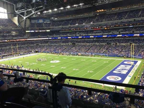 Lucas Oil Stadium, section: 308, row: 5w, seat: 3