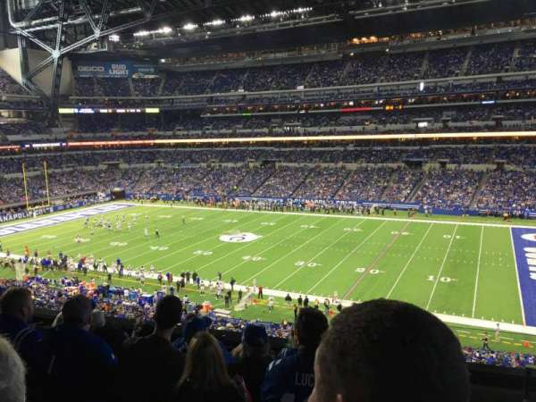 Lucas Oil Stadium, section: 310, row: 5, seat: 1