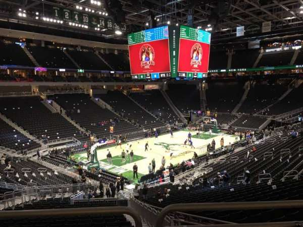 Fiserv Forum, section: 120, row: ADA, seat: 1