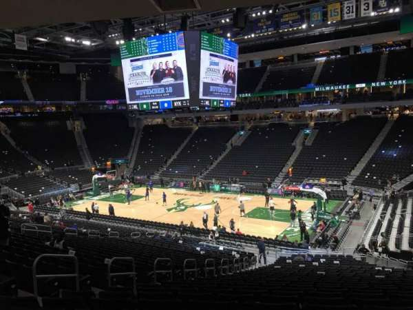 Fiserv Forum, section: 104, row: Rl, seat: 12