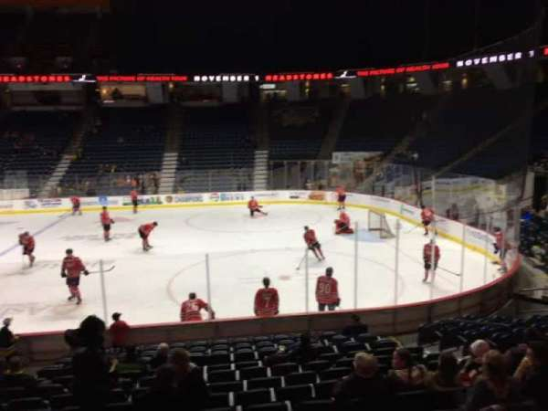 FirstOntario Centre, section: 106, row: 14, seat: 10