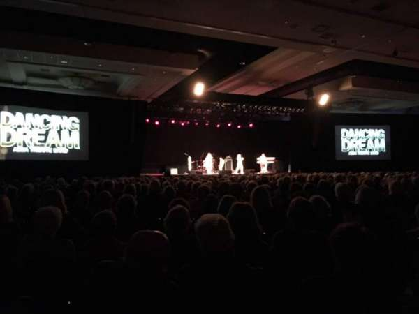 Seneca Niagara Events Center, section: Left