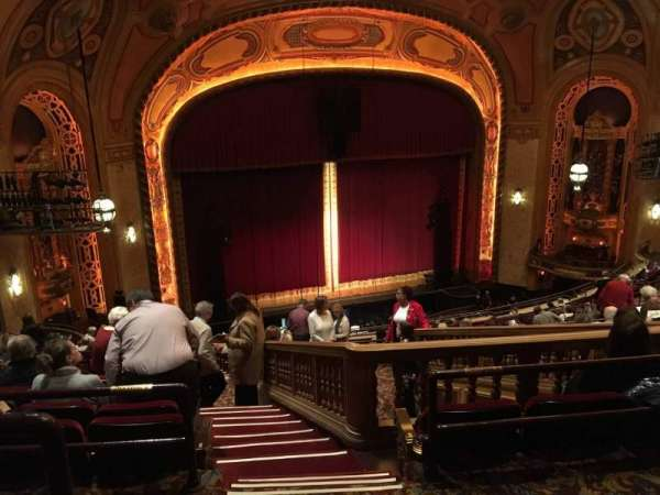 Shea's Buffalo, section: Balcony 6, row: Q, seat: 25