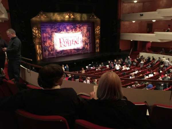 Thrivent Hall at Fox Cities Performing Arts Center, section: Dress Circle, row: B, seat: 218