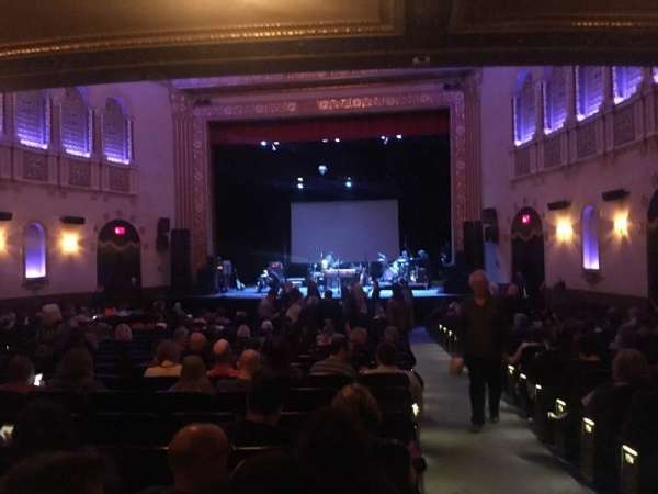 Michigan Theater, section: Orchestra C, row: Y, seat: 114