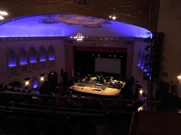 Michigan Theater, section: Balcony R, row: M, seat: 18
