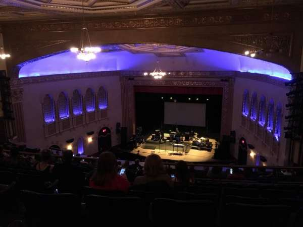Michigan Theater, section: Balcony R, row: P, seat: 10