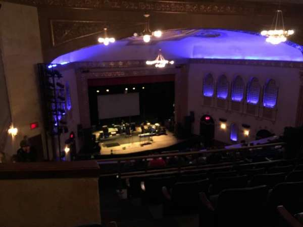 Michigan Theater, section: Balcony L, row: M, seat: 17