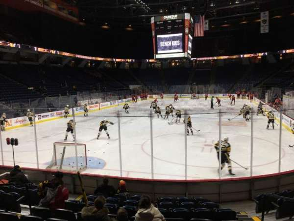 FirstOntario Centre, section: 114, row: 10, seat: 4