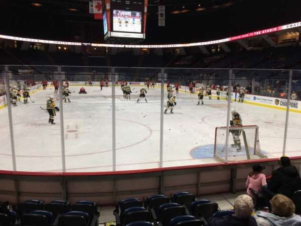 FirstOntario Centre, section: 116, row: 7, seat: 4