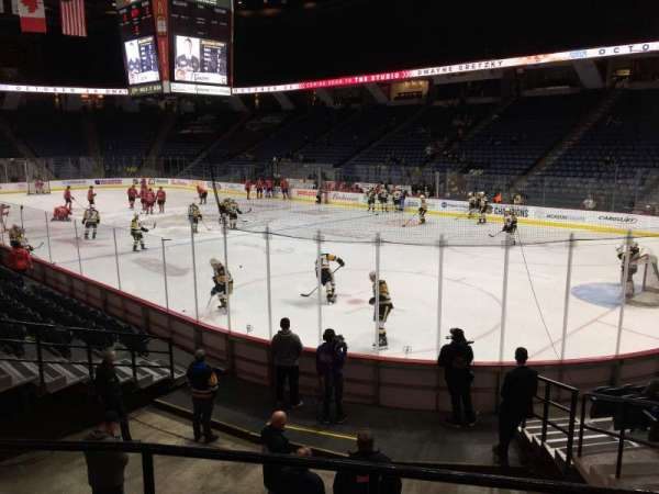 FirstOntario Centre, section: 118, row: 12, seat: 7