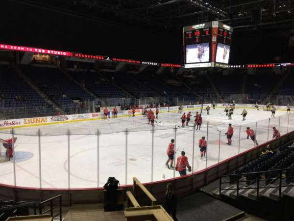 FirstOntario Centre, section: 126, row: 12, seat: 7