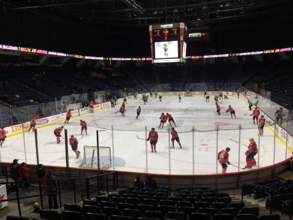 FirstOntario Centre, section: 128, row: 14, seat: 7