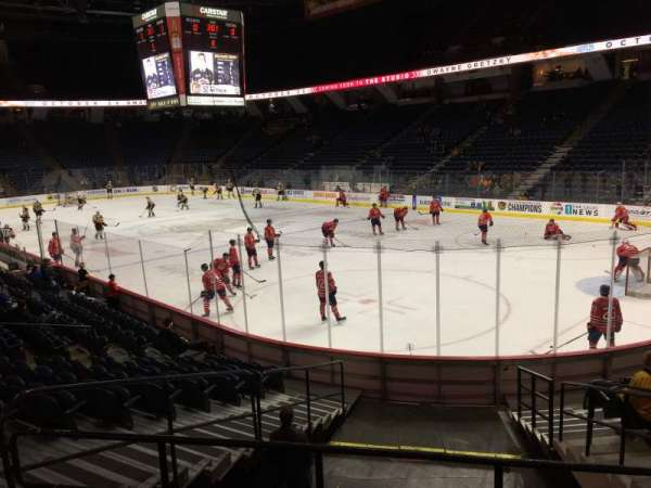 FirstOntario Centre, section: 104, row: 13, seat: 6