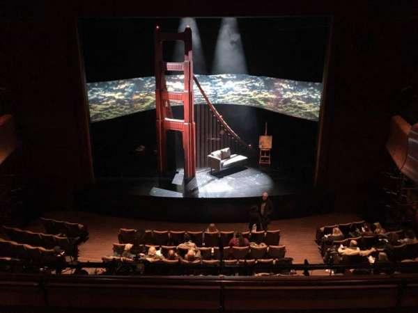 Suzanne Roberts Theatre, section: Mezz, row: C, seat: 9