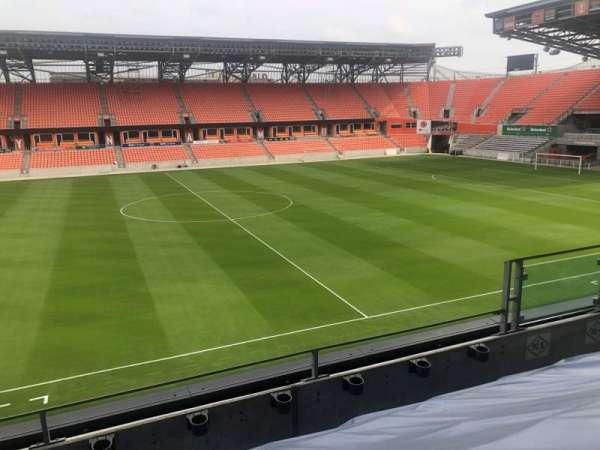 BBVA Stadium, section: PC5
