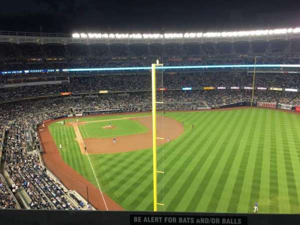 Yankee Stadium, section: 307, row: Standing
