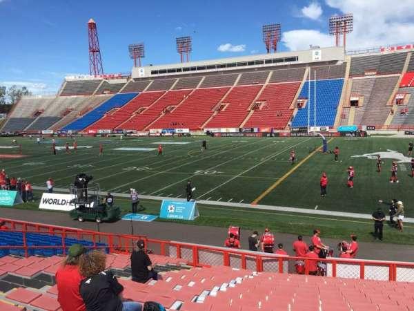 McMahon Stadium, section: B, row: 18, seat: 27