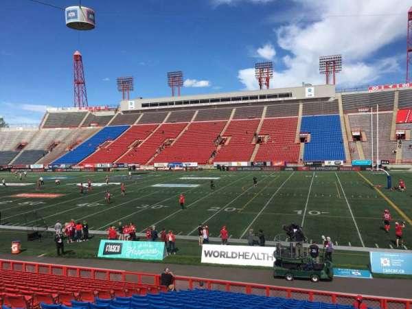 McMahon Stadium, section: C, row: 18, seat: 16