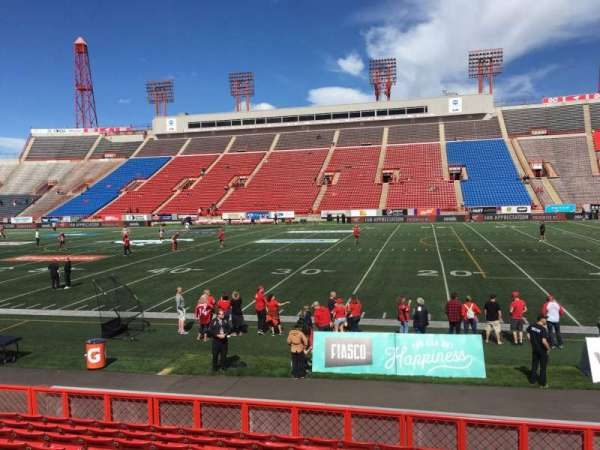 McMahon Stadium, section: D, row: 10, seat: 15