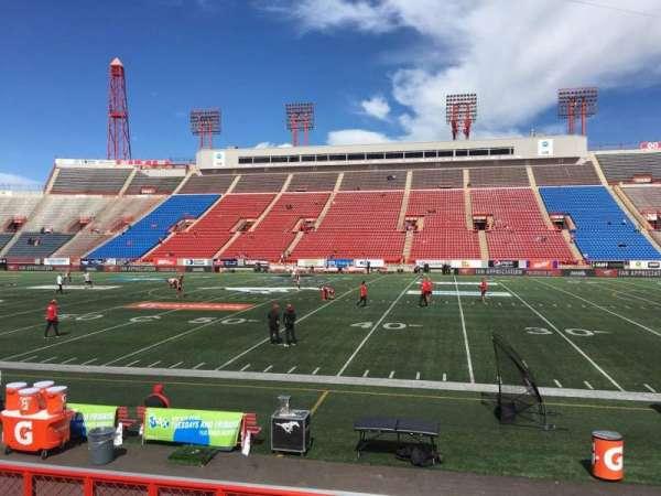 McMahon Stadium, section: E, row: 8, seat: 14