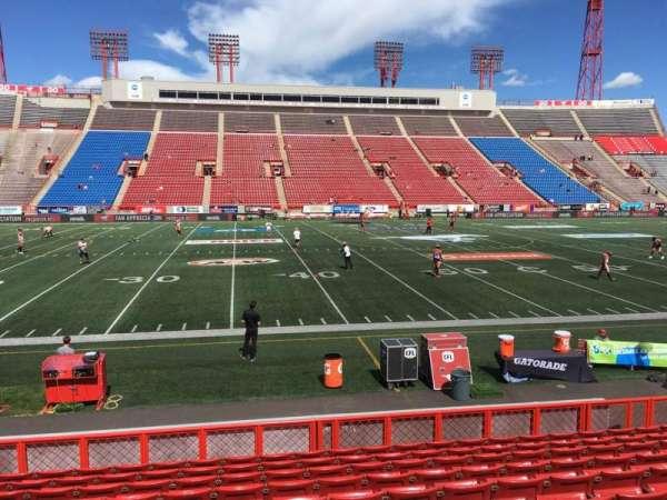 McMahon Stadium, section: G, row: 11, seat: 15