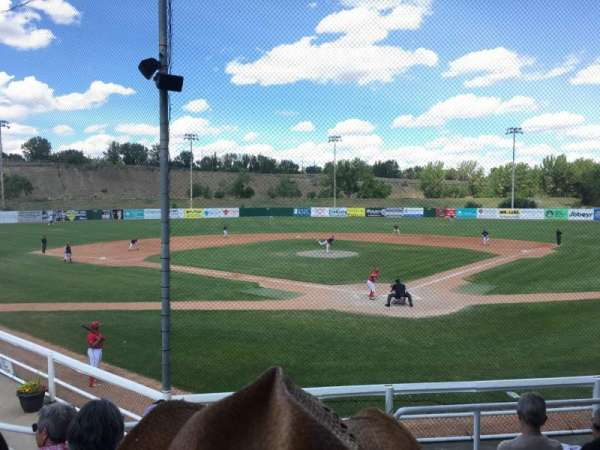 Athletic Park (Medicine Hat), section: C, row: F, seat: 1