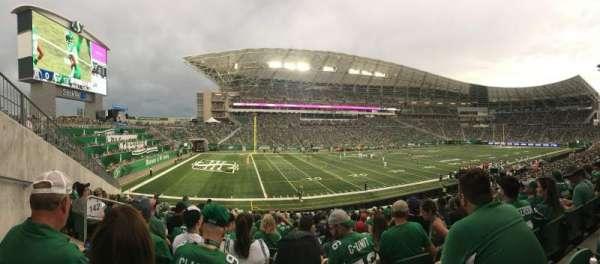 Mosaic Stadium, section: 142, row: 24, seat: 22