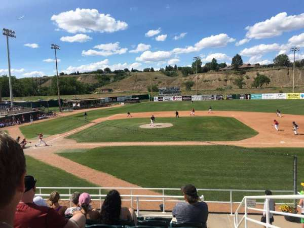 Athletic Park (Medicine Hat), section: G, row: G, seat: 1