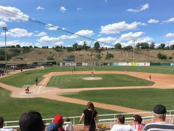 Athletic Park (Medicine Hat), section: F, row: G, seat: 1