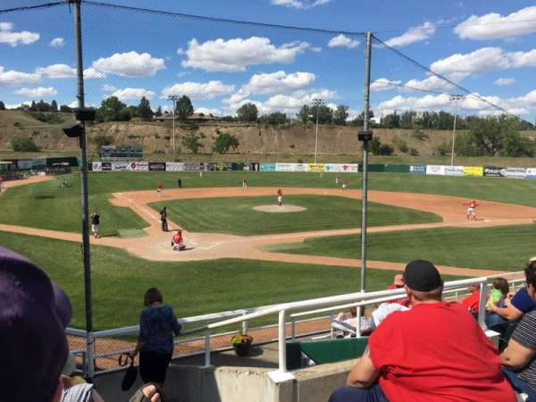Athletic Park (Medicine Hat), section: E, row: J, seat: 1