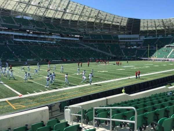 Mosaic Stadium, section: 143, row: 12, seat: 4
