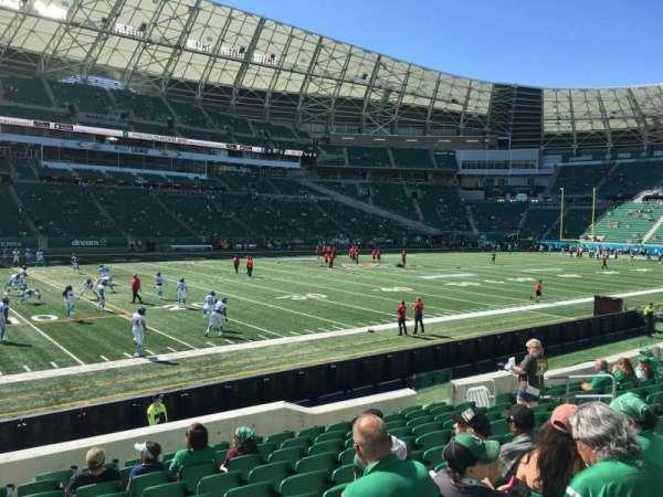 Mosaic Stadium, section: 142, row: 13, seat: 14