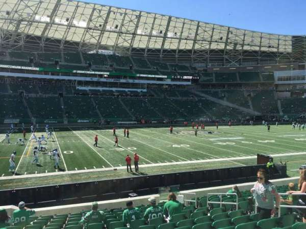 Mosaic Stadium, section: 141, row: 14, seat: 10
