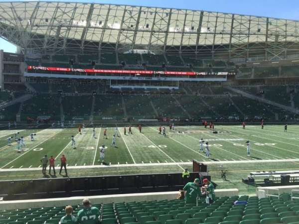 Mosaic Stadium, section: 140, row: 16, seat: 14