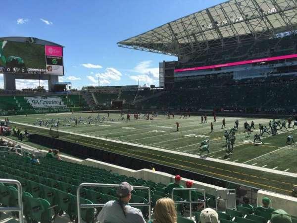 Mosaic Stadium, section: 134, row: 15, seat: 12