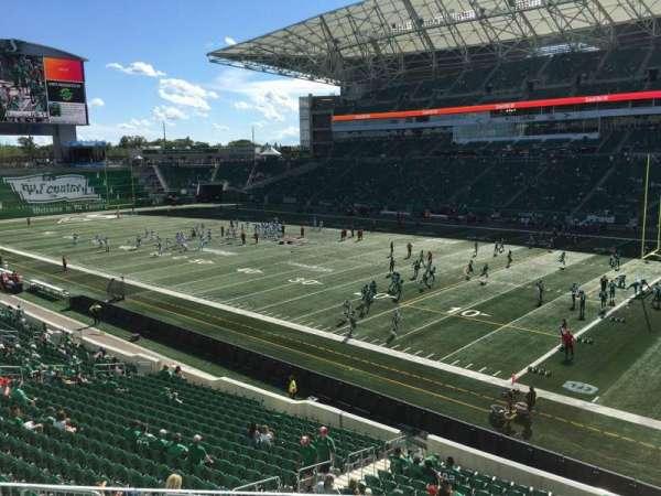 Mosaic Stadium, section: 132, row: 21, seat: 10