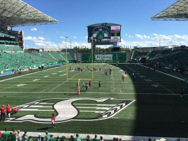 Mosaic Stadium, section: 126, row: 12, seat: 11