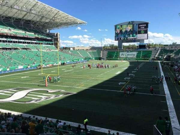 Mosaic Stadium, section: 124, row: 14, seat: 8
