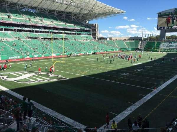 Mosaic Stadium, section: 123, row: 13, seat: 8