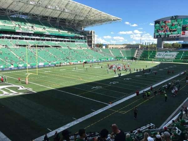 Mosaic Stadium, section: 122, row: 17, seat: 23