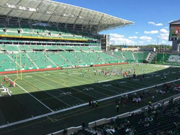 Mosaic Stadium, section: 121, row: 23, seat: 16