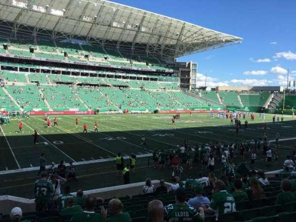 Mosaic Stadium, section: 118, row: 14, seat: 16