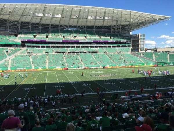 Mosaic Stadium, section: 116, row: 29, seat: 22