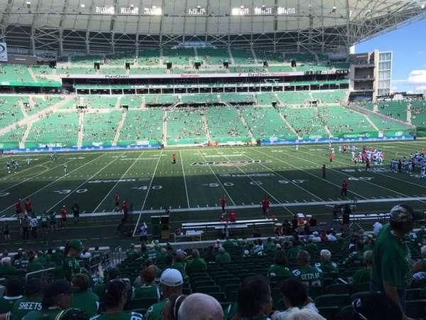 Mosaic Stadium, section: 115, row: 24, seat: 19