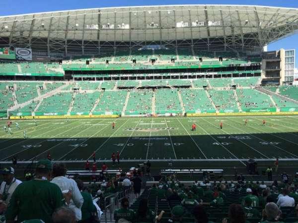 Mosaic Stadium, section: 114, row: 28, seat: 21