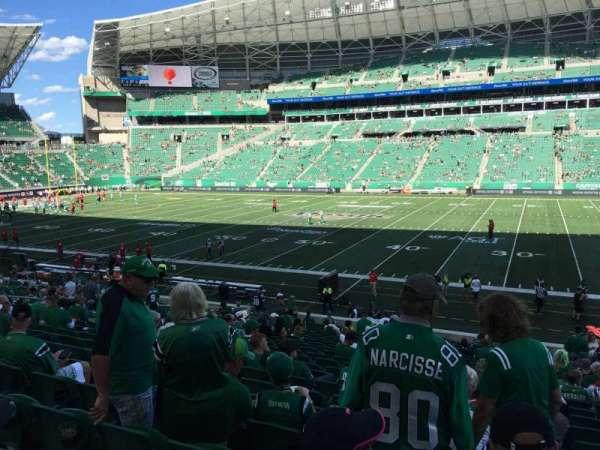 Mosaic Stadium, section: 113, row: 24, seat: 4