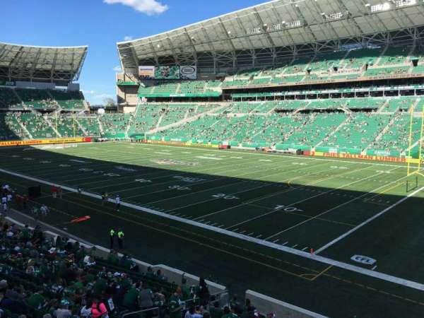Mosaic Stadium, section: 109, row: 17, seat: 11