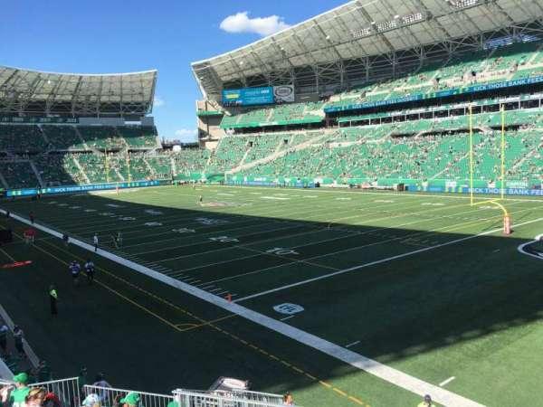 Mosaic Stadium, section: 107, row: 12, seat: 4